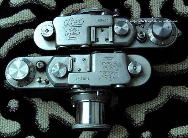 Русские и советские фотокамеры: http://yelphimoff.narod.ru/bronshtein/RusCamera.htm